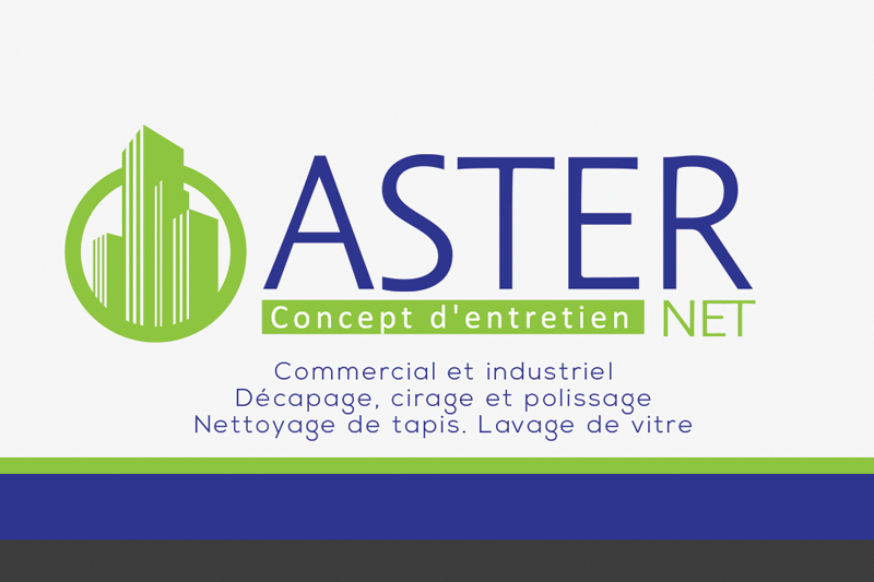 AsterNet::Logo, Cartes d'affaires